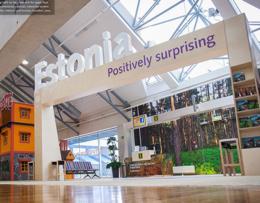 Visit Estonia – Gate at Tallinn Airport