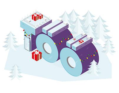 Töötukassa – Christmas Greetings