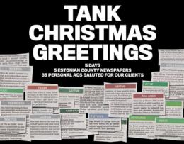 Tank – Christmas Greetings 2016